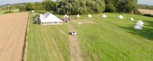 Rectory Farm Meadow wedding hire field